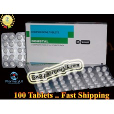 Domstal Domperidone 10mg 100 Tablets For Indigestion,stomach Nausea Vomiting Diarrhea