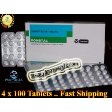 Domstal Domperidone 10mg 400 Tablets For Indigestion,stomach Nausea Vomiting Diarrhea