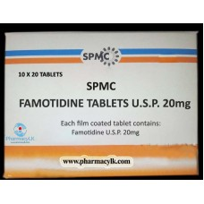 FAMOTIDINE 20mg 200ct (Pepcid) Heartburn Reducer