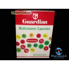 Guardian Multi-vitamin + Minerals 100 Capsules / All-in-one Formula