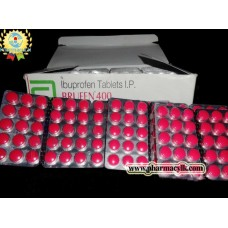 IBUPROFEN 400mg BRUFEN 90 TABLETS
