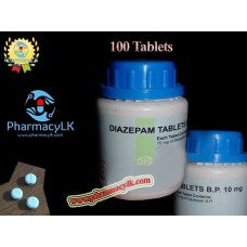 MSJ 10mg Diazepam 100 Tablets For Anxiety, insomnia,muscle spasms / Sleeping tablets