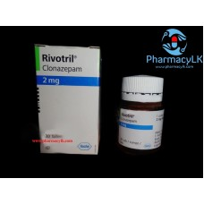 Rivotril Clonazepam 2mg (Klonopin) 30 Tablets For Anxiety ,panic attacks, seizures
