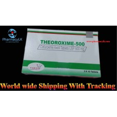 Theoroxime Cefuroxime axetil 500mg 30 Tablet /reduce drug-resistant bacteria