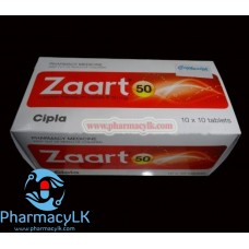 Zaart Losartan 50 Mg 100 Tablets For hypertension,Diabetic