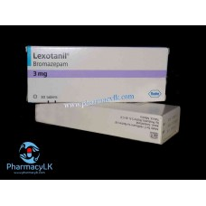 lexotanil bromazepam 3mg 30 Tablets (anxiety) Sleeping aids